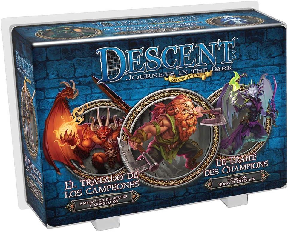 Edge Entertainment - El tratado de los campeones, Descent: Viaje a las tinieblas (EDGDJ32) , color/modelo surtido: Amazon.es: Juguetes y juegos