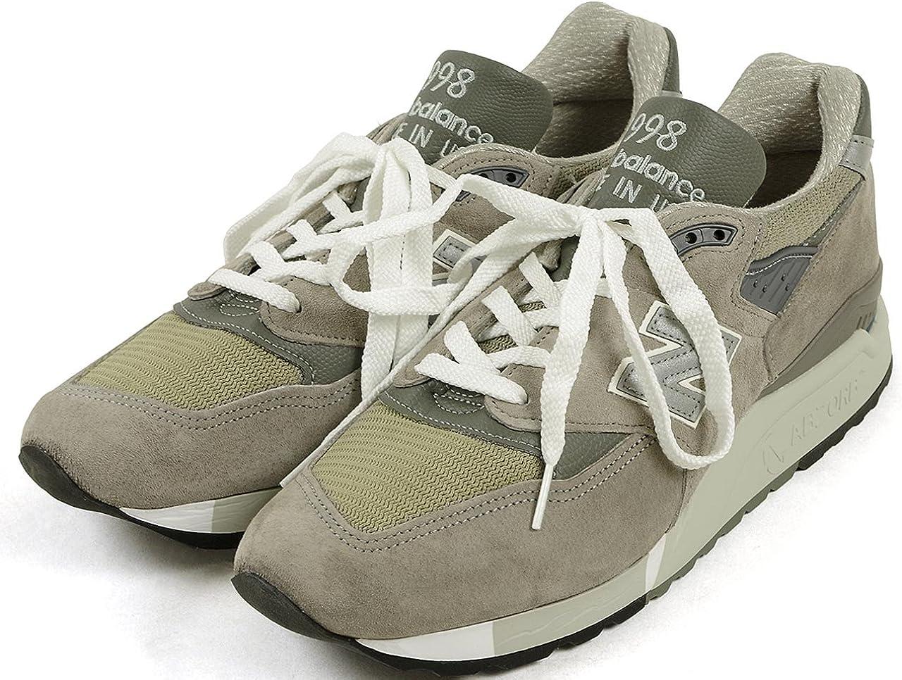 Alboroto variable Confesión  Amazon.co.jp: New Balance M998 Gray (MADE IN USA) - grey: Shoes & Bags