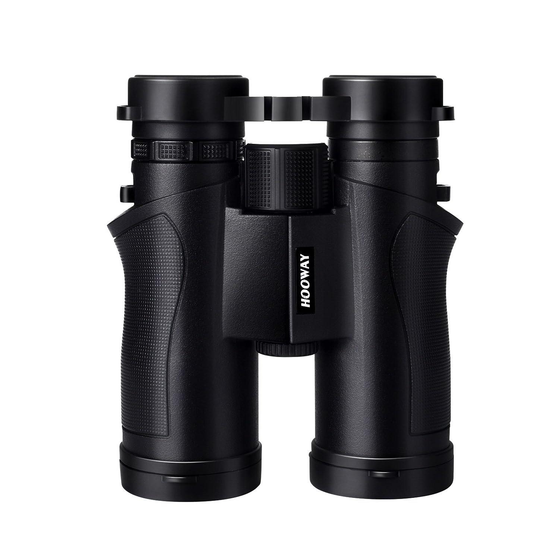 Hooway 8 x 25防水双眼鏡for Bird Watching。ウルトラコンパクト&軽量、屋外のスポーツ、狩猟、コンサート。 B07D5C52X8  8X42 Black
