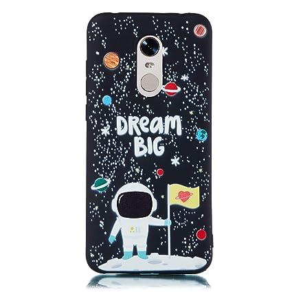 EUCase Funda para Xiaomi Redmi 5 Plus Silicona Suave Carcasa ...