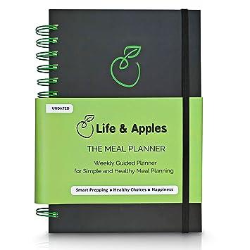 Amazon.com: Planificador de comidas semanales con lista de ...