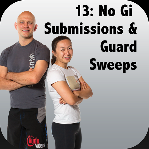 How to Defeat the Bigger, Stronger Opponent with BJJ, Vol 13 - No Gi Submissions & Guard Sweeps