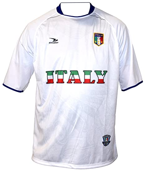 Image Unavailable. Image not available for. Color  DRAKO INC 2010 SOUTH  AFRICA WORLD CUP MENS ITALY WHITE SOCCER JERSEY - SIZE  LARGE 954ec9c0e