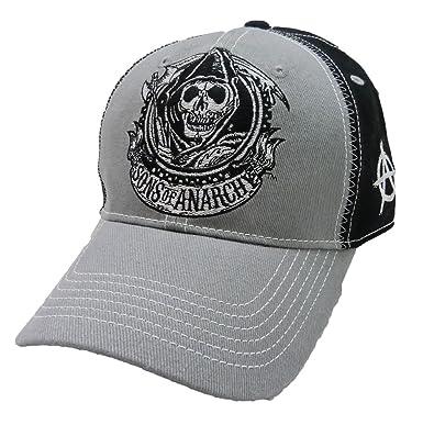 e1778e80376 Sons Of Anarchy Contrast Cogwheet Hat  Amazon.co.uk  Clothing