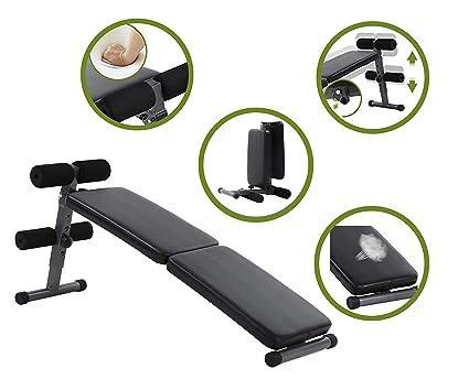 Amazon.com: Máquina de entrenamiento abdominal ajustable y ...