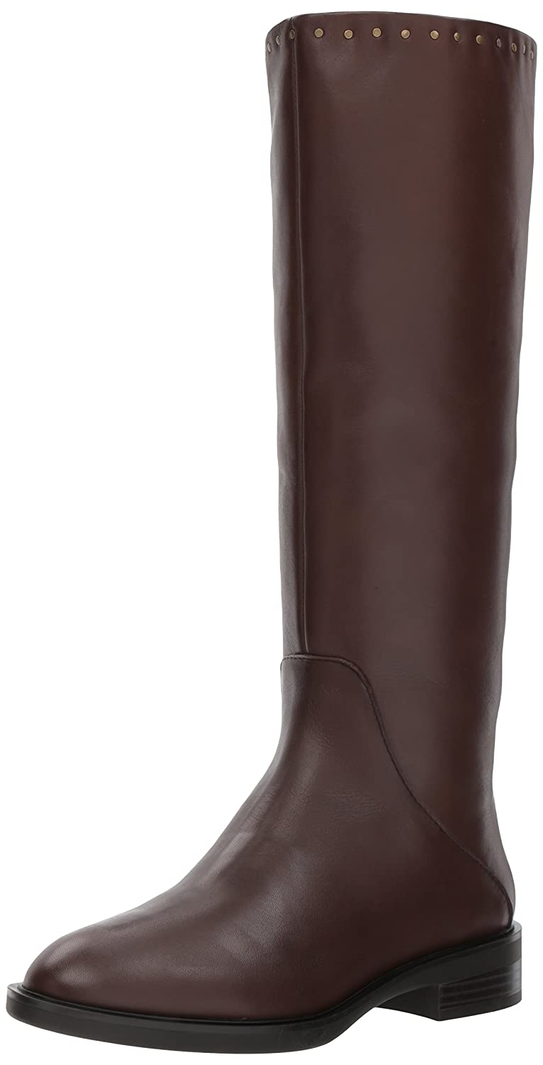STEVEN by Steve Madden Women's Zeeland Fashion Boot B07237BLDP 7 B(M) US|Brown Leather