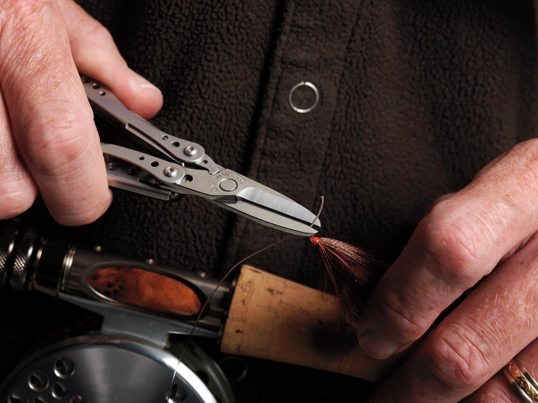 richiudibile 6 attrezzi in uno in confezione Blister tascabile Leatherman Multi-Tools Small STYLE CS Utensile multiuso