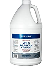 Lifeline Wild Alaskan Fish Oil for Dogs and Cats, 128-Ounce