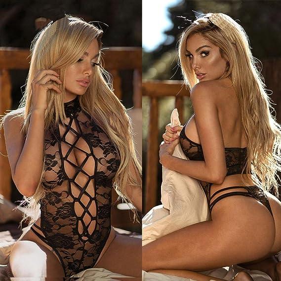 Lencería Mujer, Amlaiworld Mujeres de encaje lencería ropa interior pijama tanga Babydoll ropa de dormir: Amazon.es: Ropa y accesorios