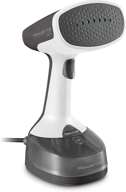 Rowenta - Cepillo de vapor de mano, salida de vapor 17g/min,1100W, calentamiento rápido 45 segundos, depósito extraible 150 ml. Accesorios incluidos. Perfecto para viajar (Reacondicionado)