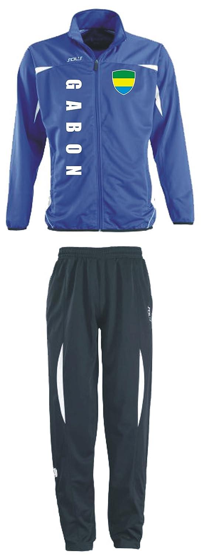 Gabun Trainingsanzug - Sportanzug - S-XXL - Fußball Fitness