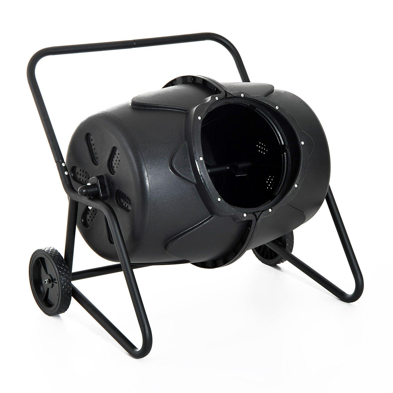 Generic O-8-O-4243-O ilizer Barrel Waste Bin Fe Yard Lawn arrel W Garden Compost Tumbler Yard L Bin Fertilizer Leaves bler 45 45 Gallon NV_1008004243-TYQFUS32