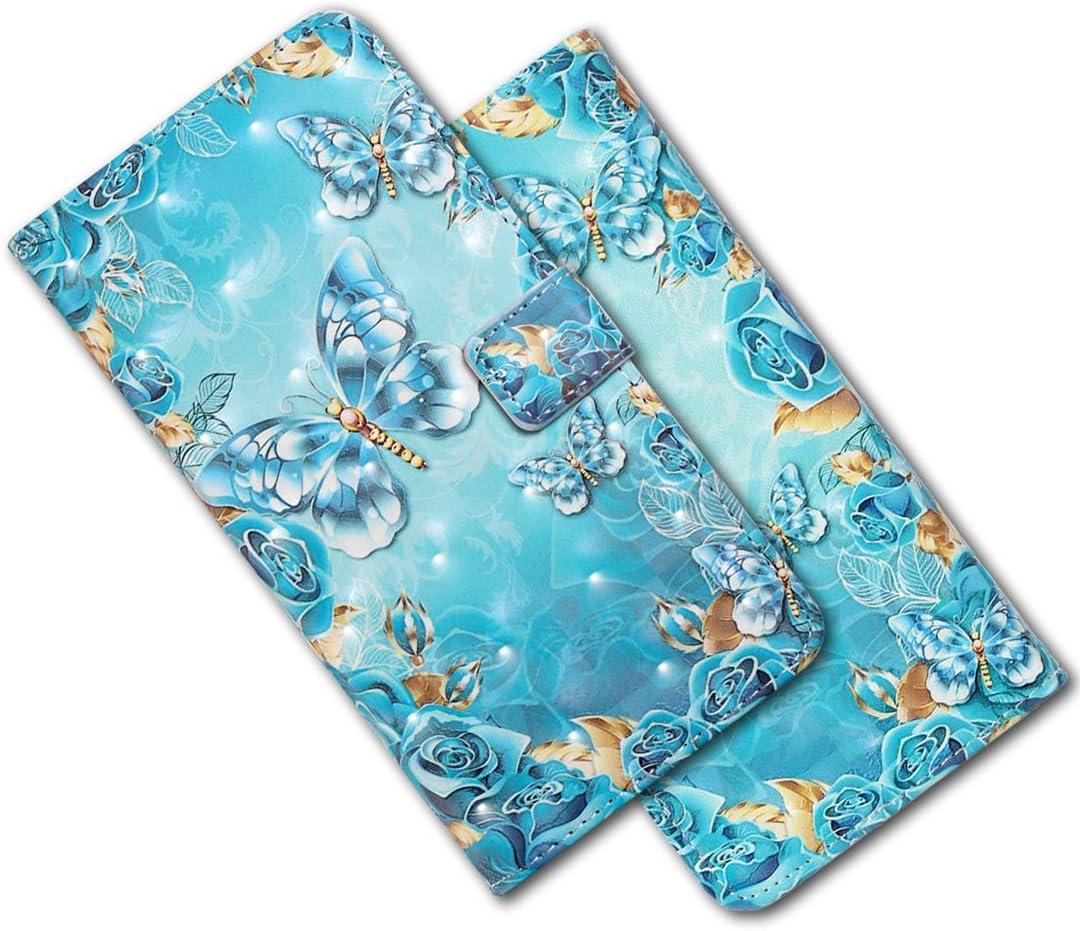 Leder Schutzh/ülle Brieftasche H/ülle Flip Case 3D Sto/ßfest Cover mit Kartenfach Magnet Tasche Handyh/üllen f/ür Huawei P30 Lite XY 3D Mosaic Marble MRSTER Huawei P30 Lite H/ülle Handytasche