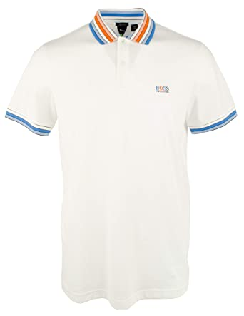 6b52ae462 Amazon.com: Hugo Boss Men's Paddy 1 Athletic Polo with Logo Embroidery: Boss  Hugo Boss: Clothing
