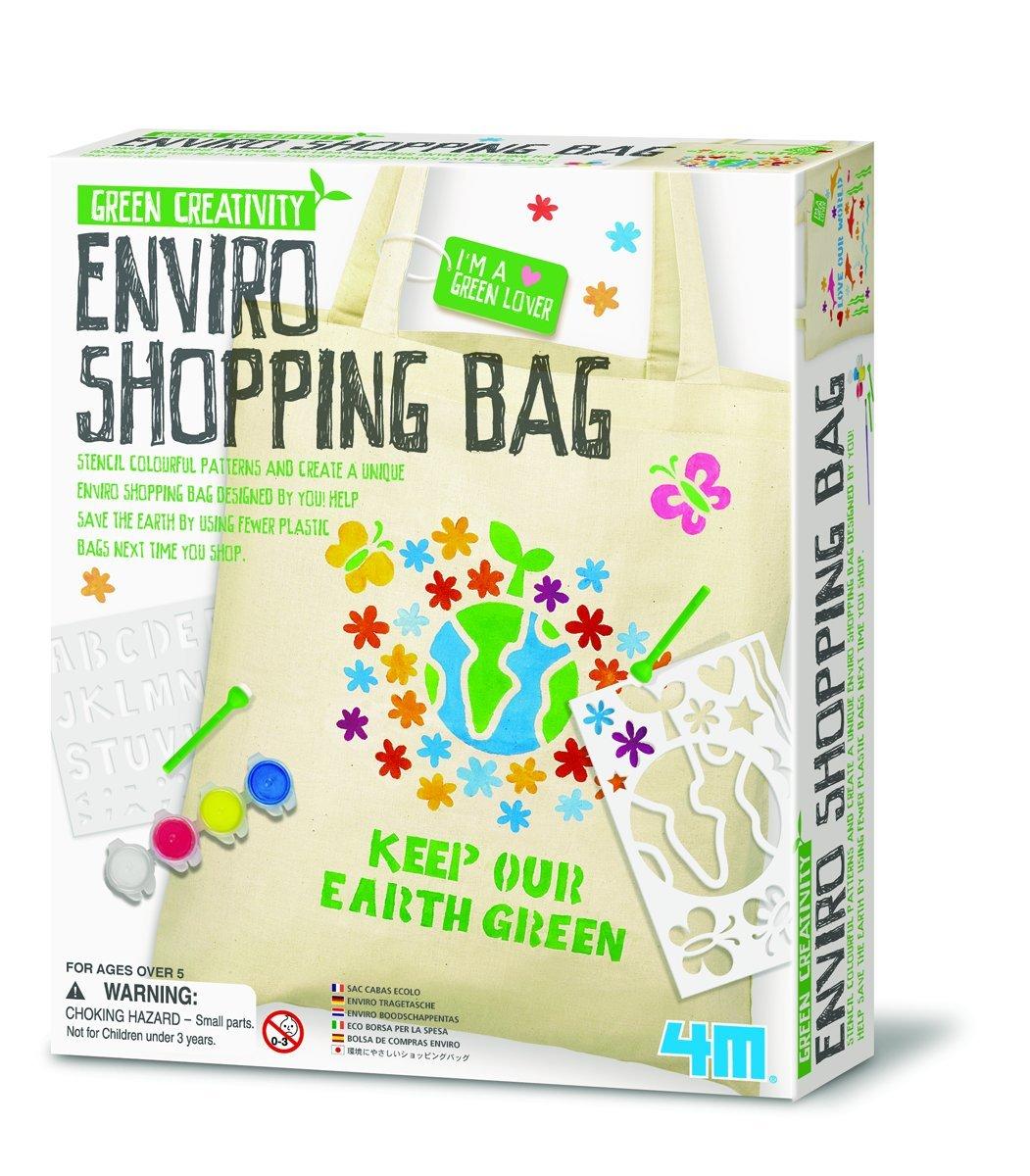 Grün Science Enviro Shopping Bag - Tragetasche Tragetasche Tragetasche zum Gestalten B003A0O2EW | Kaufen Sie beruhigt und glücklich spielen  f768f2