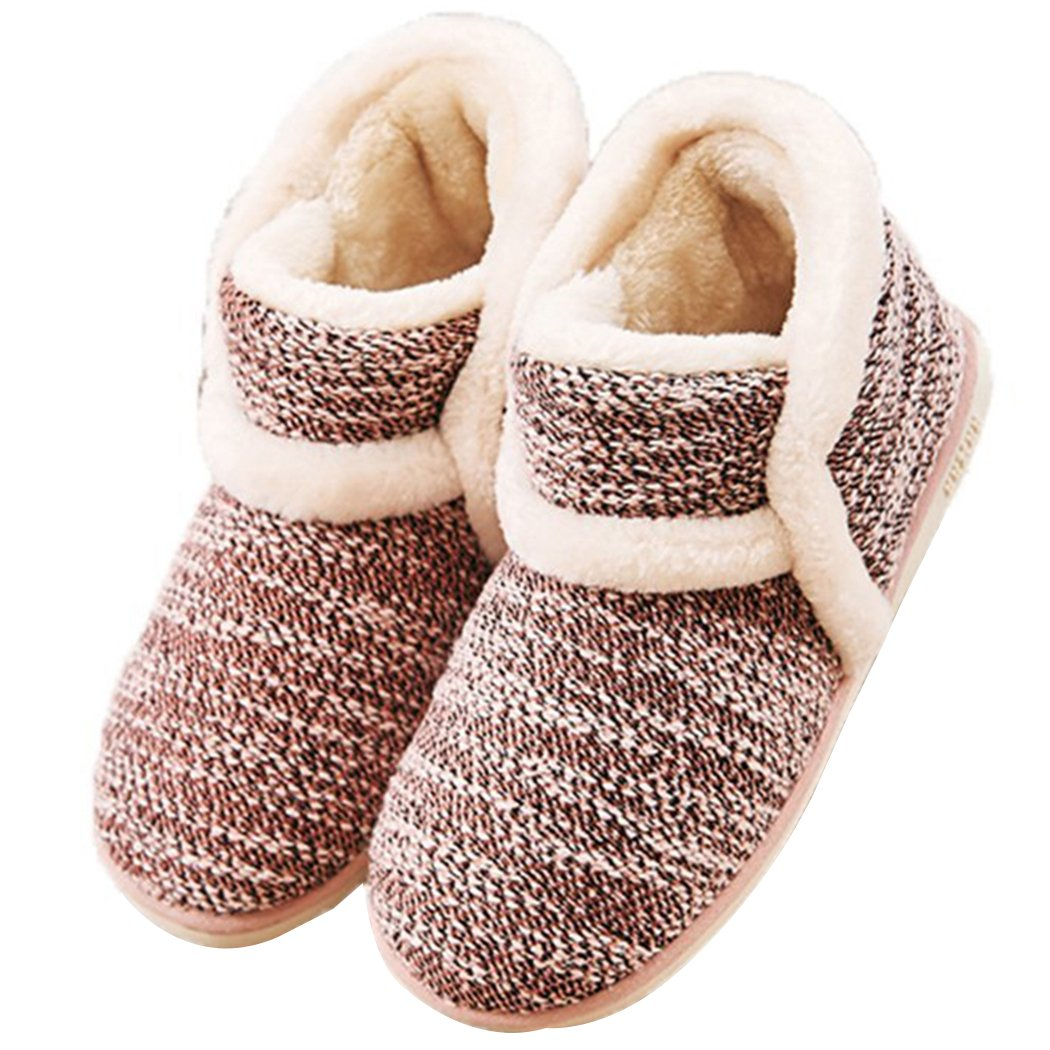Winter Vintage Boot Slippers Arctic Solid Indoor Pink 6 B(M) US