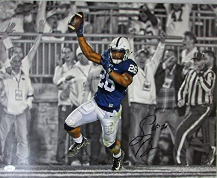 78e10299345 Autographed Saquon Barkley Photograph - PSU 16x20 TD TD 135460 - JSA  Certified - Autographed College Photos at Amazon's Sports Collectibles Store