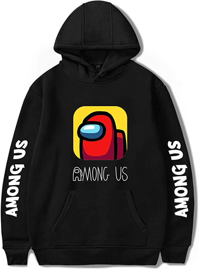 Youth Among Us Pullover Hoodie and Sweatpants Suit 2 Piece Outfit Fashion Sweatshirt Set for Boys Girls