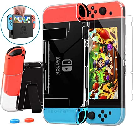 AISITIN Nintendo Switch Case Dockable, Protective Case Cover for ...