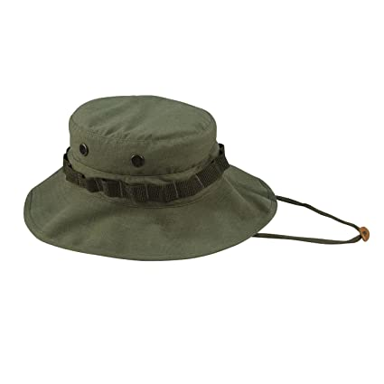 93af012c9ba Amazon.com  Rothco Vintage Vietnam Style Boonie Hat  Sports   Outdoors