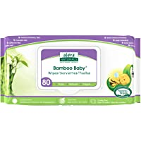 Aleva Naturals Bamboo Baby Wipes 80-Count