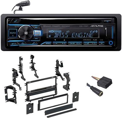 Alpine CDE-175BT CD Receiver with NFC /& Bluetooth® Wireless Technology