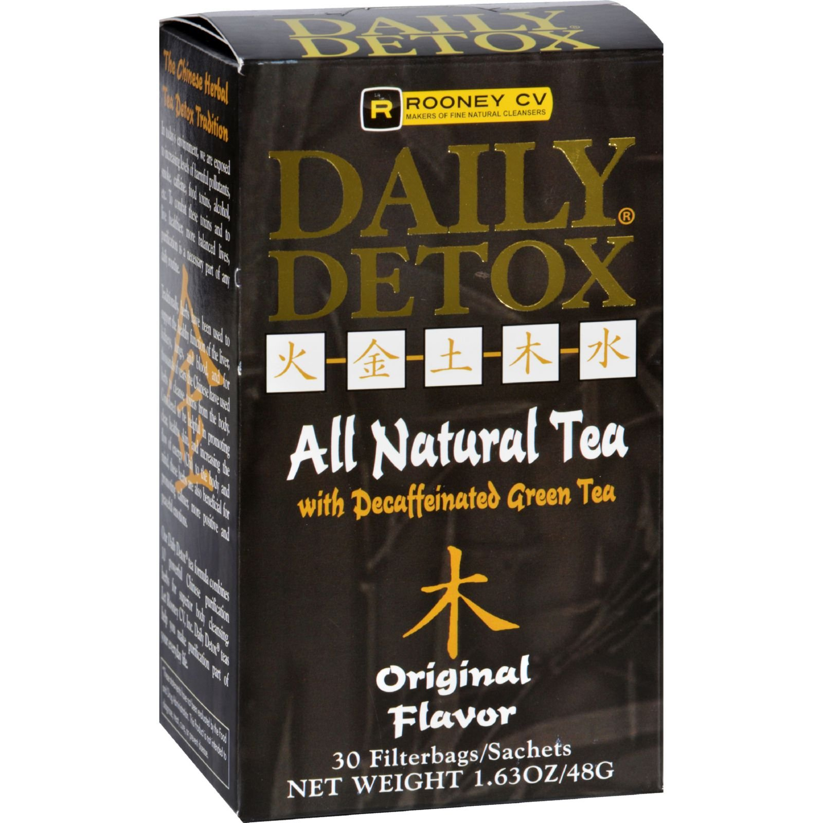 amazon com   daily detox all natural tea  decaffeinated passion fruit green tea  30 count
