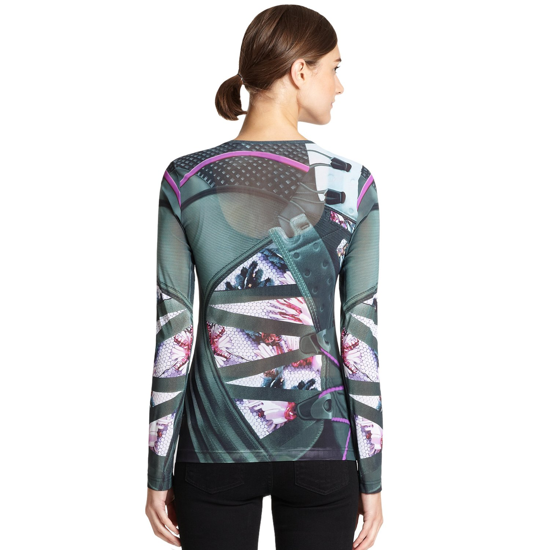 18c6e548 adidas Originals Mary Katrantzouu Mesh Fitted Top at Amazon Women's  Clothing store:
