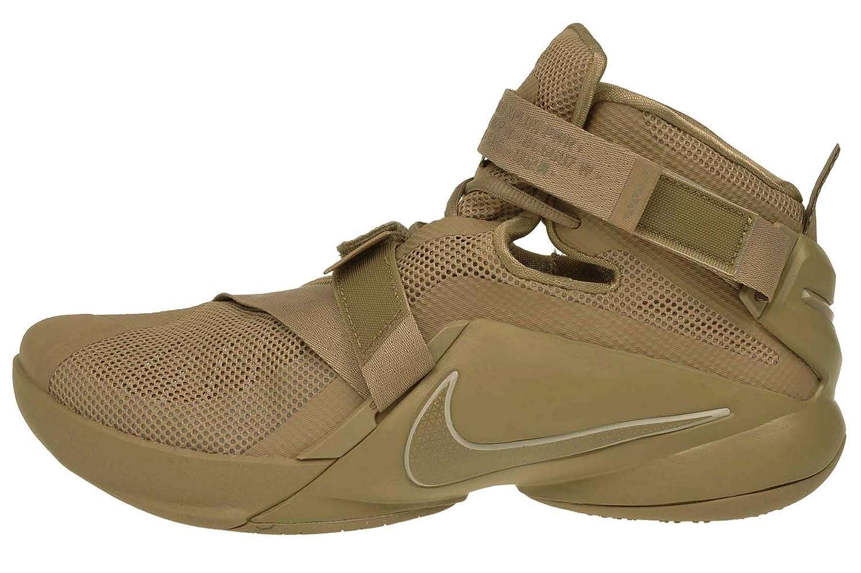 the latest 132aa 0d85e Nike Lebron Soldier IX PRM Desert Camo Men's Basketball Shoes Size 10