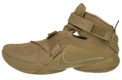 purchase cheap 281db 7ebfe Nike Lebron Soldier IX PRM Desert Camo Men's Basketball Shoes Size 11.5