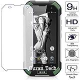 Guran® Pellicola Protettiva in Vetro Temperato per Blackview BV6000 Smartphone Sottile Protezione invisibile