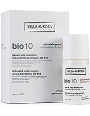 Bella Aurora Bio10 Tratamiento Facial Anti-Manchas Piel Mixta o Grasa Hidratante Mujer Anti-Envejecimiento, 30 ml
