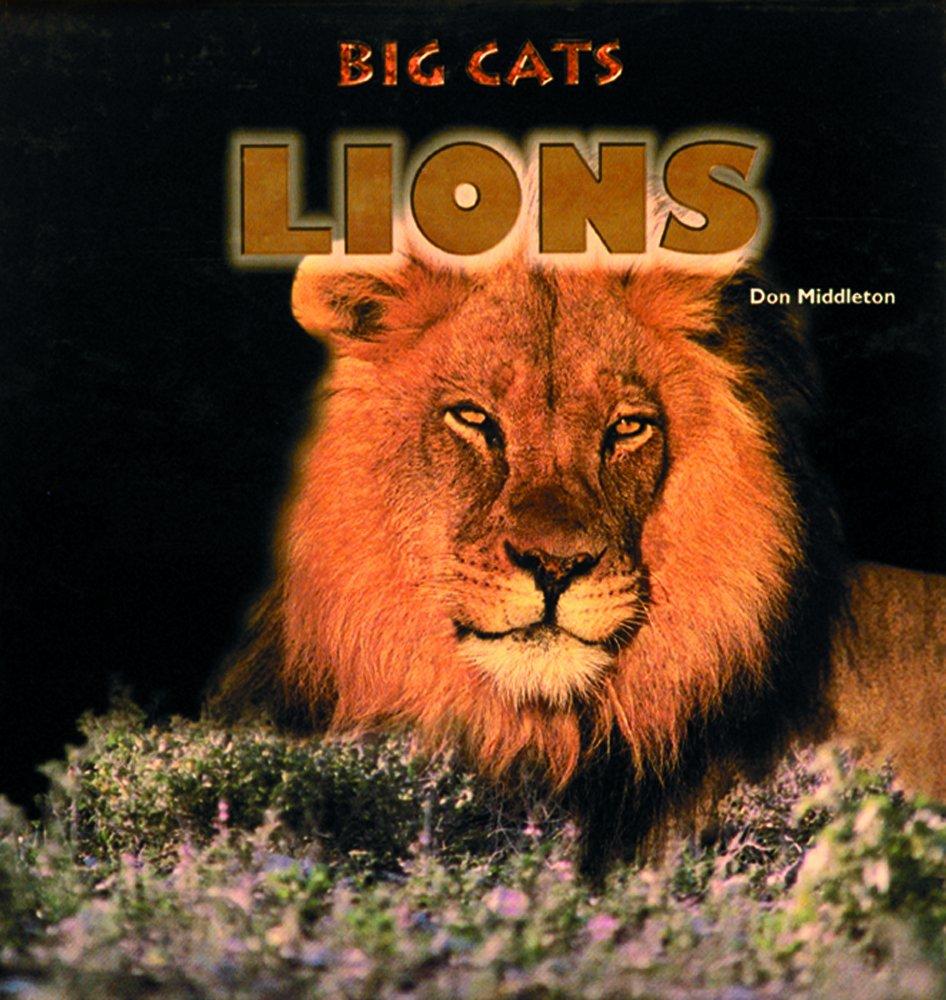 Lions (Big Cats): Don Middleton: 9780823952083: Amazon com