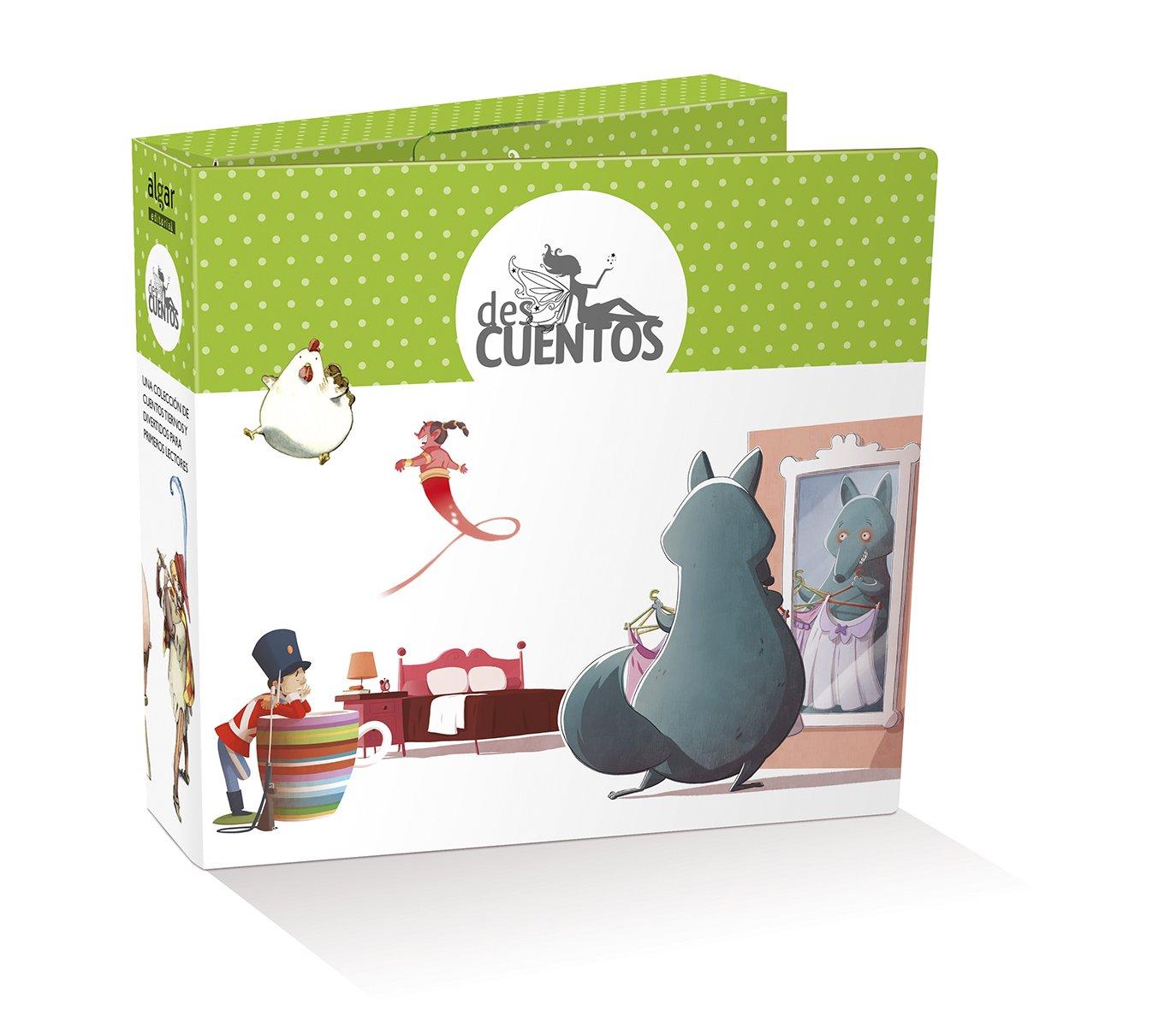 DES CUENTOS (MALETA-10 LIBROS) (Spanish) Loose Leaf – 2014