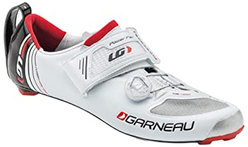 meet 1b0e3 acda5 Louis Garneau Men s Course Air Lite Shoes - 38 M EU, White. Roll over image  to zoom in