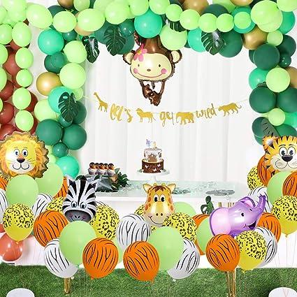 Jungle Theme Party Safari Theme Party Safari Shirt Jungles Decorations