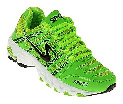 art 456 Neon Sneaker Turnschuhe Schuhe Sportschuhe Neu Damen 1Z4u8Is