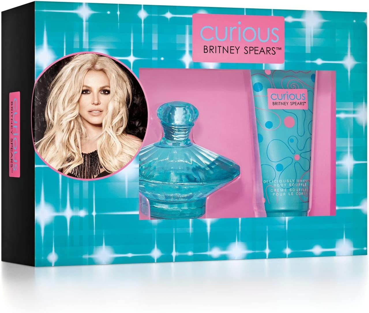 Britney Spears Curious estuche agua de perfume aerosol 100 ml/crema soplado para cuerpo 100 ml: Amazon.es: Belleza