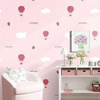 Decorativa lunares niños patrón Contacto Papel Vinilo autoadhesivo cajón estante maletero Peel y Stick–Papel pintado para dormitorio infantil (rosa, 24'wx117' L) 24wx117 L) MagicValley GL001