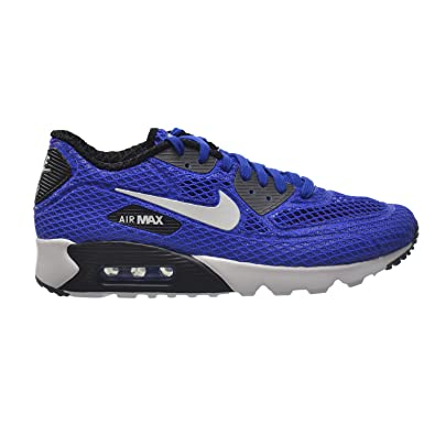 Nike Air Max 90 Ultra BR Plus QS Men's Running Shoes Blue/White-Grey