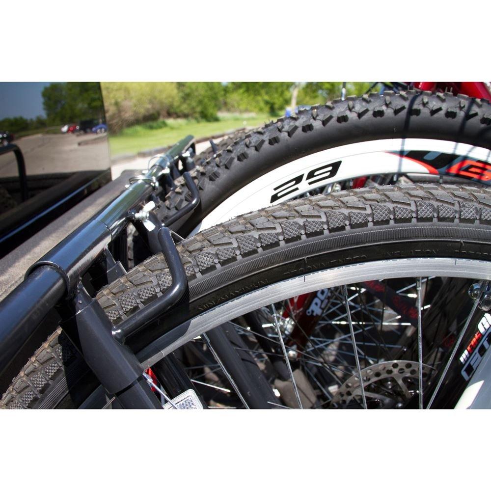 Apex Rage Powersports TBBC-4 4-Bike Pickup Truck Bed Bicycle Rack by Apex (Image #4)