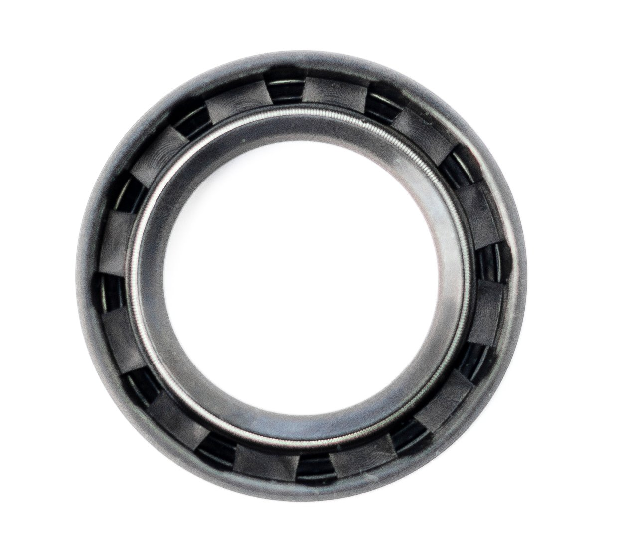 Oil Seal and Grease Seal TC 35X55X10 Rubber Double Lip with Spring 35mmX55mmX10mm by EAI Parts (Image #2)