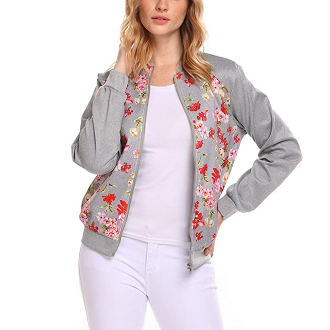 Chaquetas Bomber Mujer Vintage Fashion Otoño Primavera ...