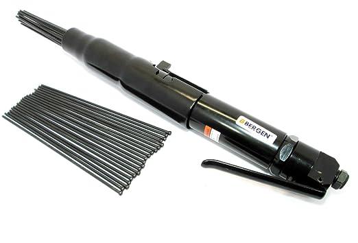 BERGEN de aguja descamar clinche removedor de óxido de-gallo B8309: Amazon.es: Industria, empresas y ciencia