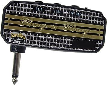 Guitarra Man Plug n Play plomo con retardo amplificador de auriculares