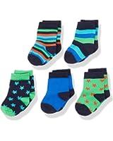 Magic Kids Jungen Socken Happy, 5er Pack