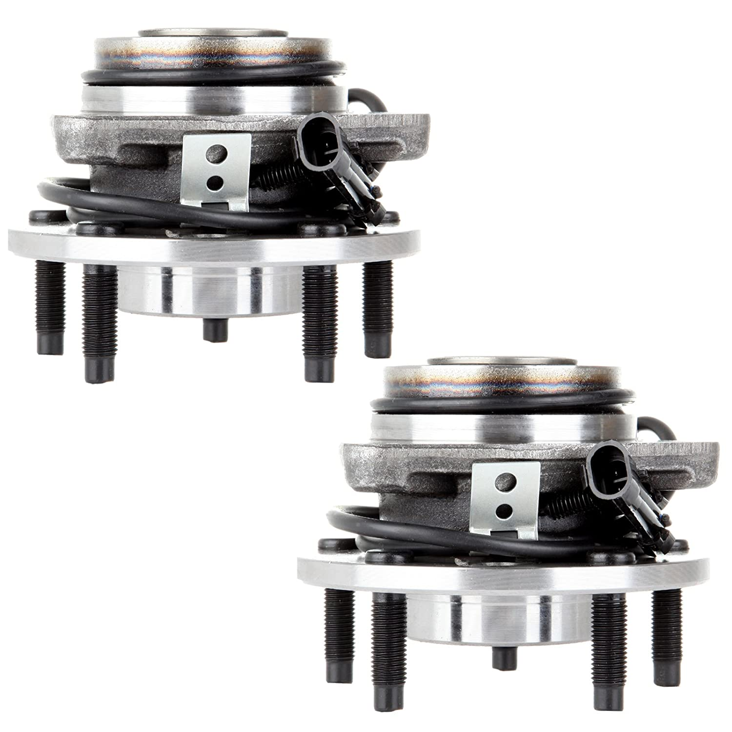 ECCPP Front Wheel Hub Bearing Assembly 5 Lugs W//ABS for 1998-2004 Chevy GMC 513124 2pcs