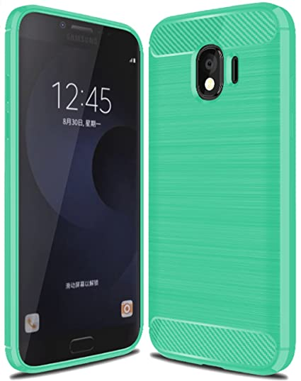 size 40 d7cff e58dd Galaxy J4 2018 Case, Sucnakp TPU Shock Absorption Technology Raised Bezels  Protective Case Cover for Samsung Galaxy J4 2018 Smartphone (Mint Green)