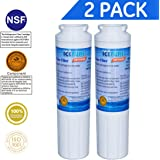 Icepure RWF0900A 2PACK Refrigerator Water Filter Compatible with Maytag UKF8001 ,WHIRLPOOL 4396395 ,EveryDrop EDR4RXD1,Filter 4
