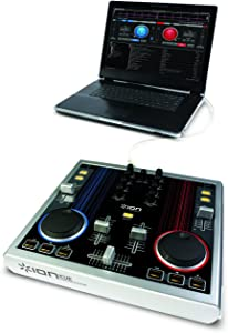 ION Audio iCUE MP3 Computer Music Mixing Station with Software